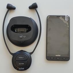 Bundlepaket Switel Smartphone VS700 und Kopfhörer Vita TV-L2BT